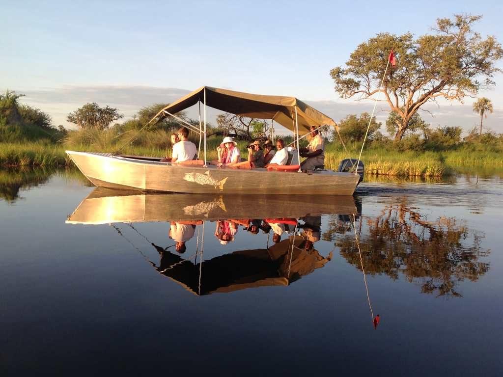 Boat cruise, Okavango Delta