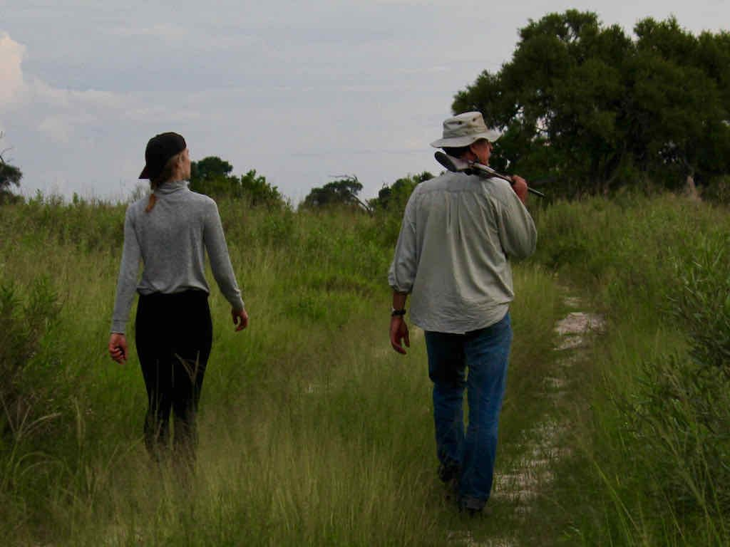 Walking safari, Okavango Delta